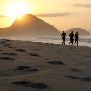Soluppgång i Rio de Janeiro
