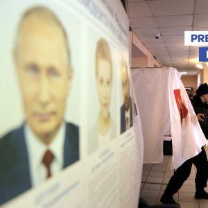 Presidentvalet i Ryssland 2018.