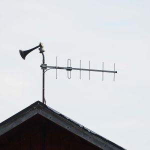 Mistlur på ett tak