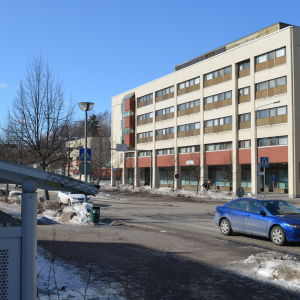 Ämbetshus i Esbo centrum.