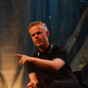 Norjalainen kirjailija Tore Renberg
