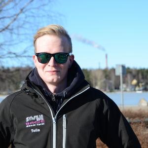 Joakim Gistö ordnar SYh-FIILIS race