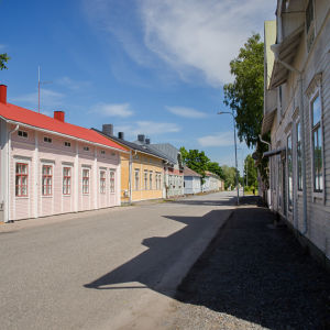 Gata i Kaskö.