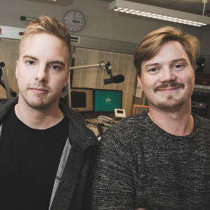 Kim Filppula och Fredric Nynäs.