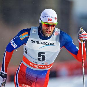 Petter Northug, Kanada, mars 2016.