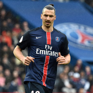 Zlatan Ibrahimovic, PSG, april 2016.