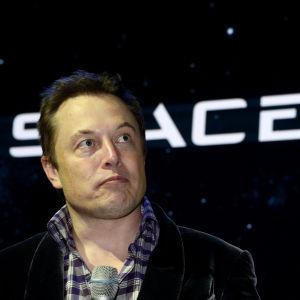 Elon Musk, vd för SpaceX