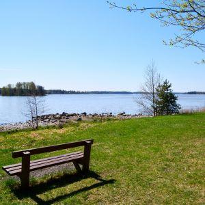 Örnshamns strandpark i hammars i Borgå