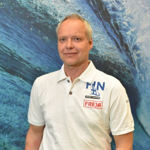 Seglingstränaren Joakim Wilenius.