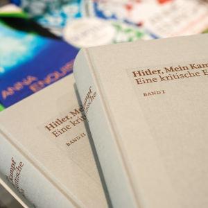 Mein Kampf i ny kommenterad utgåva.