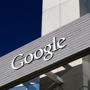 Bild från Googles huvudkontor i Kalifornien