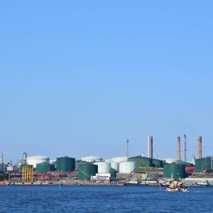 Sköldvikområdet i Borgå sett från havet