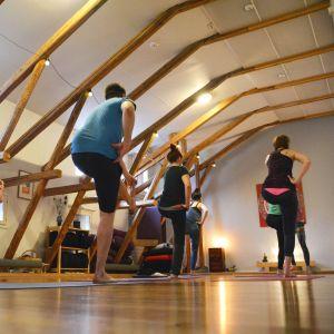 Joga på jogavinden i Borgå