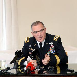 General Curtis M. Scaparrotti, USA:s kommendör i Europa.