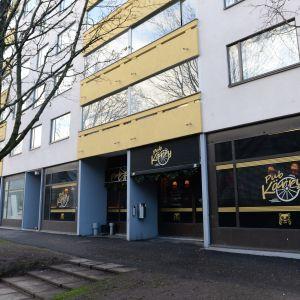 Pub Kärry i Vanda där mordförsöken skedde.