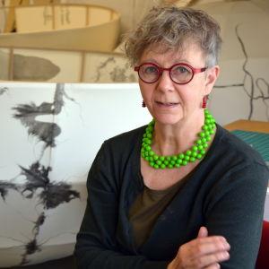 Konstnären Ylva Holländer