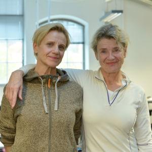 Ylva och Stina Ekblad
