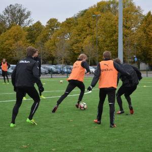 TPS träningar hösten 2017.