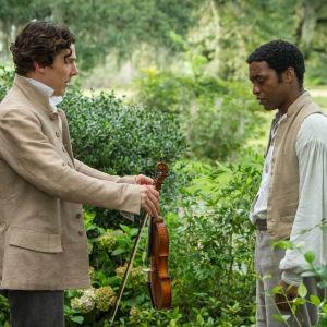 12 Years A Slave, Benedict Cumberbatch, Chiwetel Eijofo