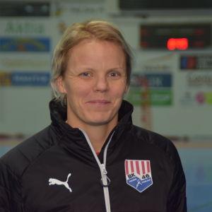 Handbollsspelare Pamela Degerman från Karislaget BK-46.