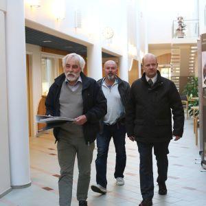 Henrik Huhta, Mikael v Konow och Stig-Ole Nyman
