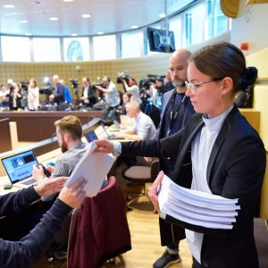 Domen mot Rahmat Akilov delas ut i Stockholms tingsrätt.