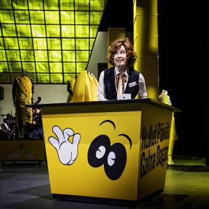 Foto från Stockmann, Stockmann på Svenska Teatern.