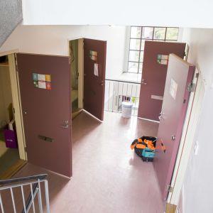 Remontti Hoasin opiskelija-asuntolassa Kivikossa.