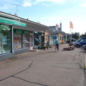Affärslänga i Broby i Pyttis.