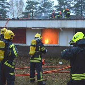 brandövning