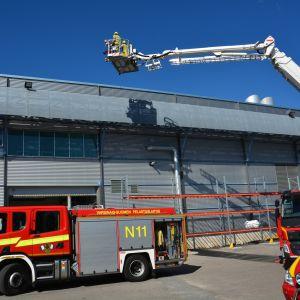 brandutryckning i Reso
