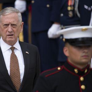 USA:s försvarsminister James Mattis.