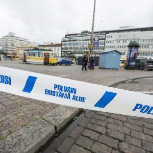 Knivattack i Åbo.