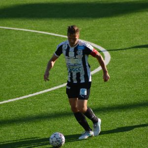 Sebastian Strandvall spelade som kapten för VPS mot Ilves.