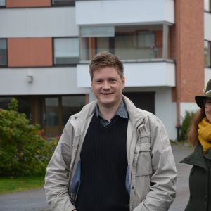 Kristoffer Jansson och Anna-stina Lassus.