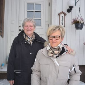 Doris Svenfelt och Catarina Palo