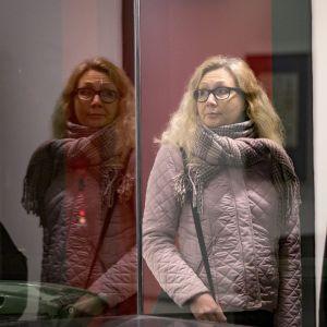 Anneli Auer i tingsrätten i december 2017.