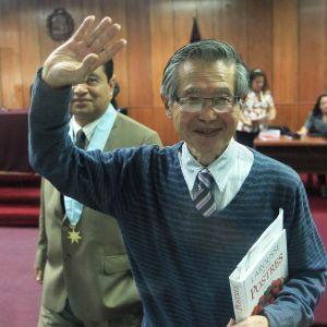 Den förre presidenten Alberto Fujimori jublade i december då han benådades för brott som han hade dömts till 25 års fängelse för