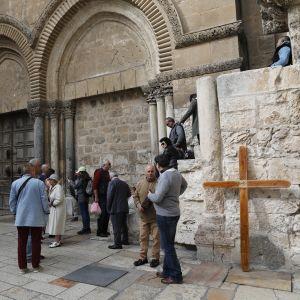 Heliga gravens kyrka i Jerusalem.