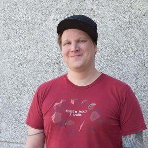 Bild på datasäkerhetsexperten Benjamin Särkkä.