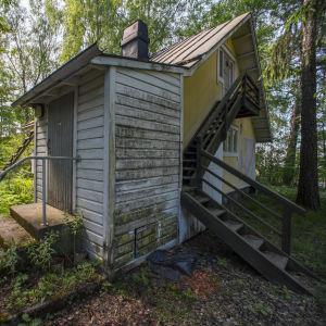 Villa Slotte i Eugen Schaumans park på Brändö i Helsingfors.