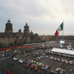 Rallybilar i Mexico City
