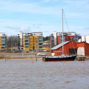 wilenius båtvarv på västra åstranden i borgå