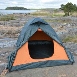 Ett tält på berget