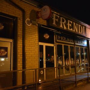 Nattklubben Frendi i Pargas.