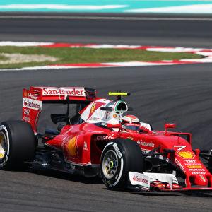 Kimi Räikkönen i Malaysia
