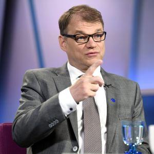 Juha Sipilä i Morgonettan 27.5.17