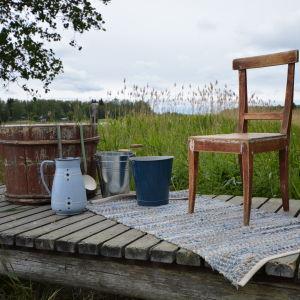 Bastubryggan på Strömsö.