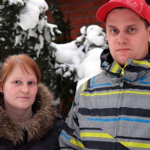 Linda och Sami Dahlberg.