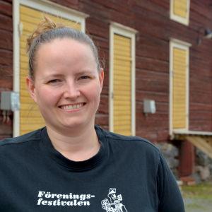Sara Snickars är aktiv martha i Malax.